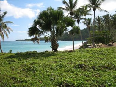 Idylic Oceanfront Lot in a Private Gated Community