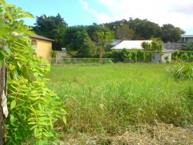 Small lot in gated community