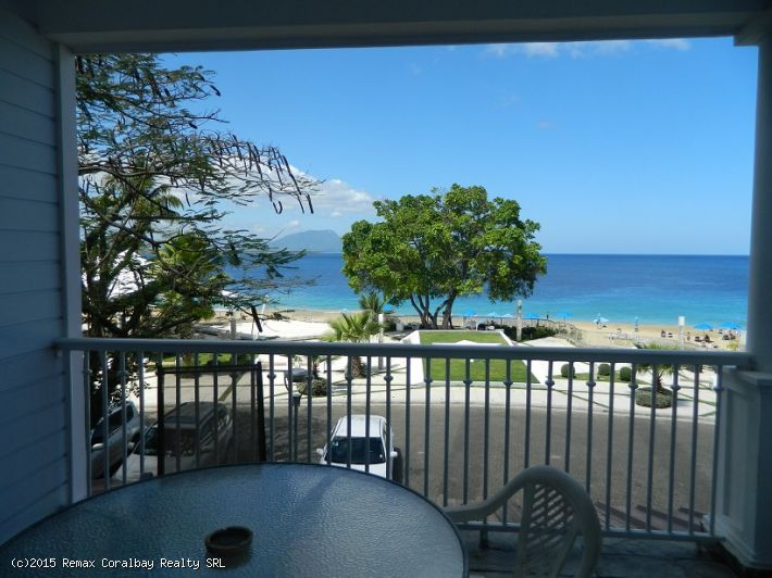 Second floor Beach Front condo