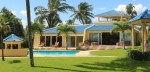 4-bedroom beach-front luxury villa ....