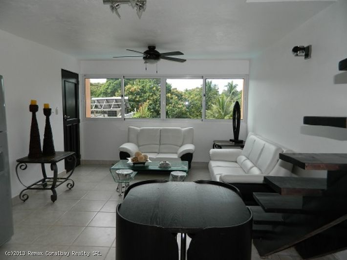 2 bedroom Penthouse in center Sosua