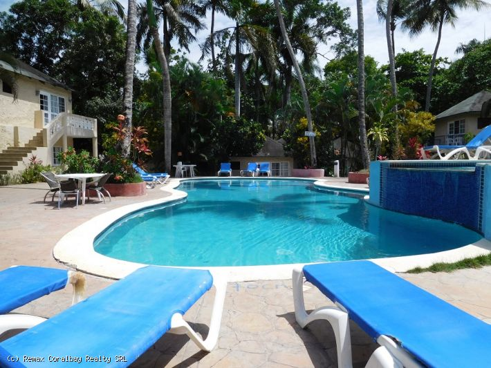 Hotel downtown Cabarete with 71 rooms