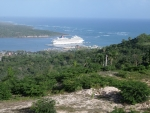 LAND NEAR CRUISE SHIP TERMINAL OF MAIMON  .......
