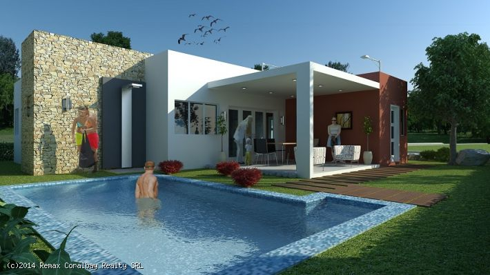 New and Modern Villa in gated community