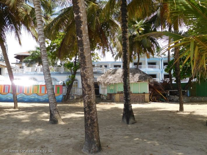 Oceanfront Hotel on the beach of Cabarete