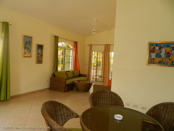 Lovely two bedroom house in gated community