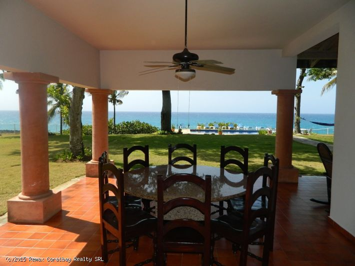 Luxury 7 bedroom Ocean Front Villa,