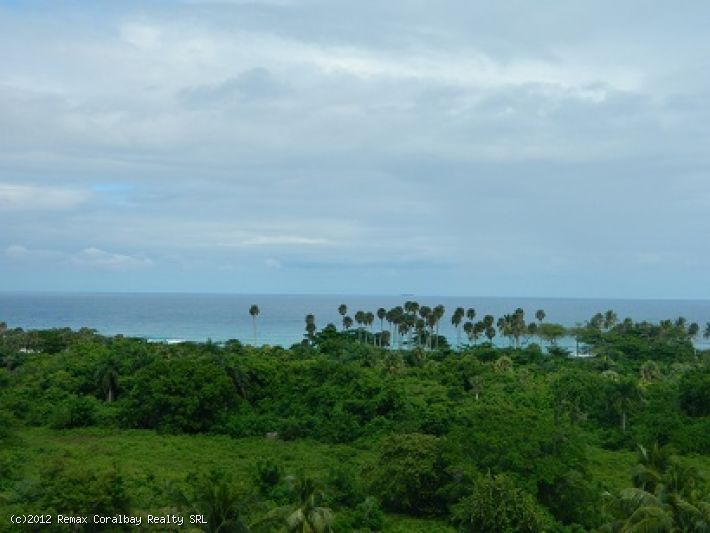 Building lot with Panoramic ocean views